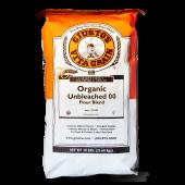 """Organic """"00"""" Unbleached Flour"""