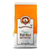 Organic Whole Wheat High Protein Flour - Fine